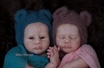 GabyGail AWAKE & ASLEEP LE500 each Discount 10% bought together Vinyl Kits, Unpainted Vinyl doll parts ONLY